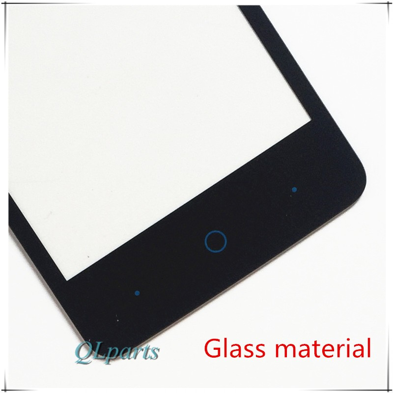 """4 """"ekran dotykowy czujnik do zte blade af3 t221 a5 a5 pro ekran dotykowy przedni panel dotykowy szkło digitizer wymiana z naklejki 5"""