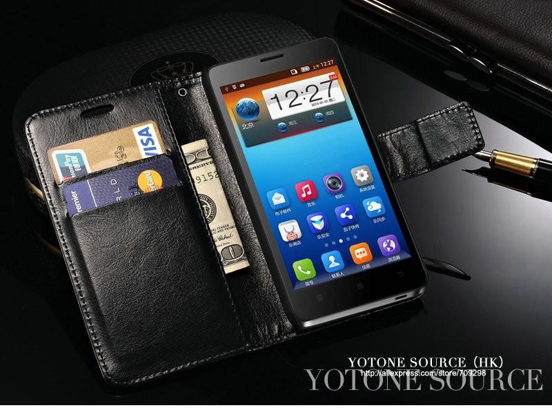 Retro PU Skórzane Etui do Lenovo S660 Telefon Portfel Nóżka Przerzuć Pokrywa Dla Lenovo S660 Przypadkach z gniazda na Kartę 5