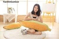 large 100cm creative Dimensional corn plush toy,zipper closure, soft throw pillow home decoration birthday gift h2704