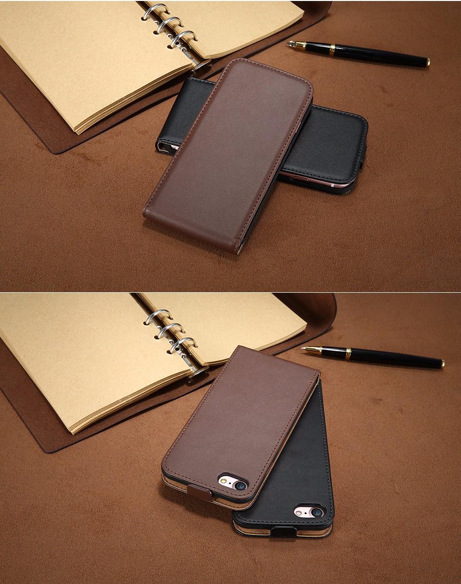 Kisscase retro 100% pu leather case for iphone 4 4s 5s 5 se 6 7 luksusowe pionie magnetic przerzucanie phone bag pokrywa dla iphone 4s 5s 9