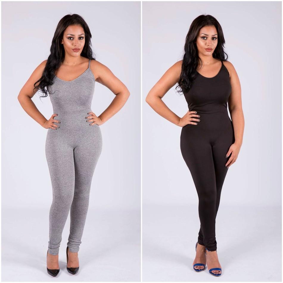 Sedrinuo 2017 lato new arrival regularne casual mody szyi sexy pajacyki kobiet kombinezon kombinezon dla kobiet 6 kolory 7160 33