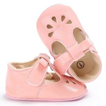dc34f7d64dafa Newborn Infant Toddler Baby Shoes Girl Mary Jane Hollow Princess Soft