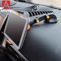 לארווין Tablet טלפון Stand עבור IPAD אוויר מיני 1 2 3 4-11 אינץ חזק יניקה Tablet רכב stand עבור ipad iPhone X 8 7 Tablet PC