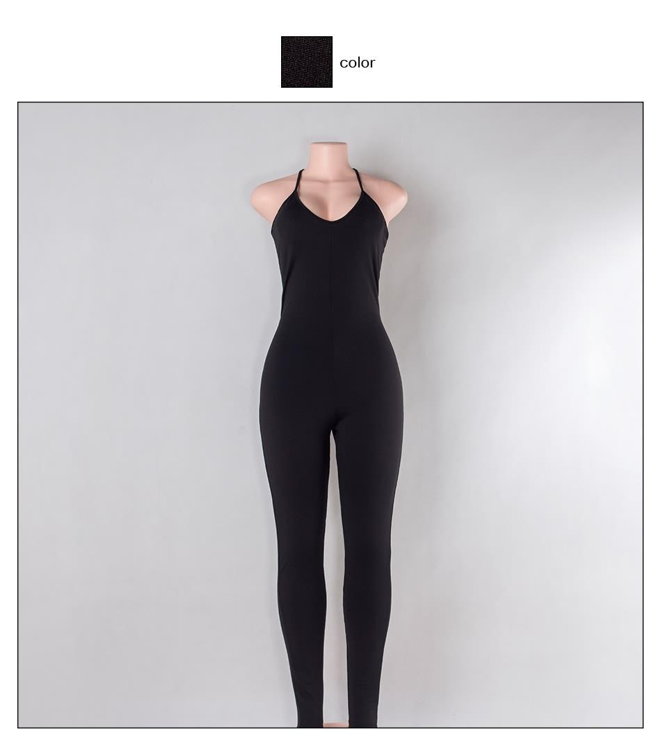 Sedrinuo 2017 lato new arrival regularne casual mody szyi sexy pajacyki kobiet kombinezon kombinezon dla kobiet 6 kolory 7160 15