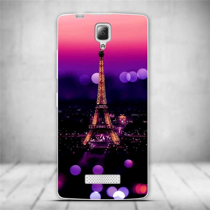 Luksusowe tylna pokrywa miękki tpu case dla lenovo a2010 a 2010 szczupła cienkie silikonowe etui na telefony dla lenovo a2010-a/a 2010 powrót skóry 22