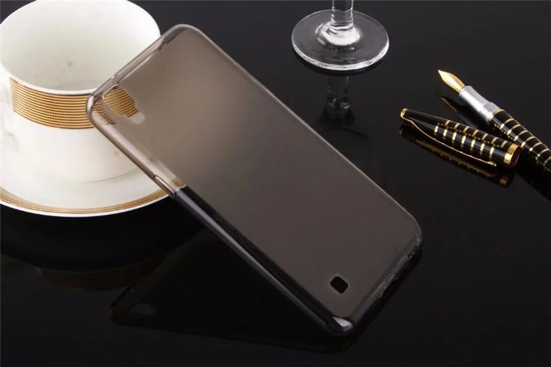 Dla LG X Przypadku Zasilania 5.3 cal Matte TPU Back Cover Case dla LG X Power K210 K220 K220ds Case Miękkie Silikonowe Ochronna Futerał na Telefon torba 4