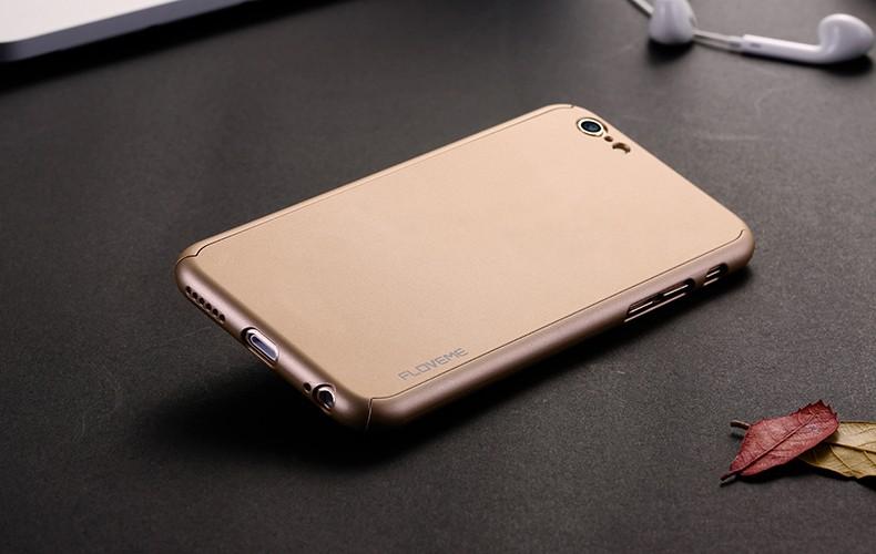 Floveme 6 s 7 plus armor screen protector 360 stopni case dla iphone 7 6 6 s dla iphone 6 6s 7 plus full chroń odporny na wstrząsy pokrywa 28