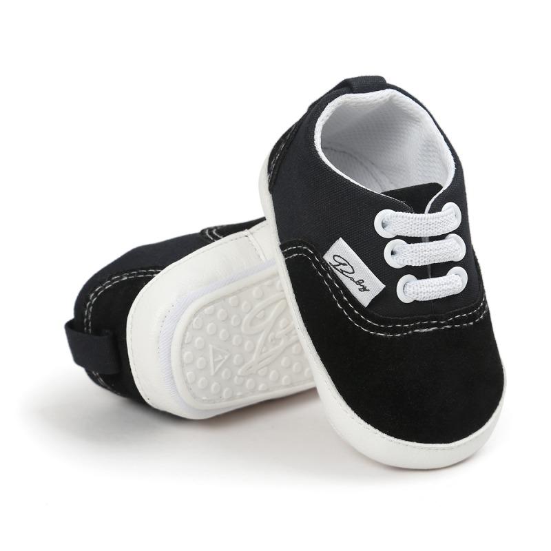 Wiosna Jesień Dziecko Noworodka Dziewczynka Chłopiec Miękkie Podeszwy antypoślizgowe Maluch Prewalker Niemowląt Sneaker Buty Na Co Dzień 9