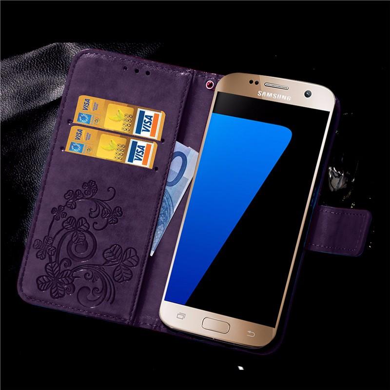 Dla iphone 7 plus 4S 5S 4 5 6 s skórzane etui z klapką case do samsung galaxy a3 a5 j3 j5 2016 j1 s6 s7 s3 s4 s5 mini grand prime pokrywa 57