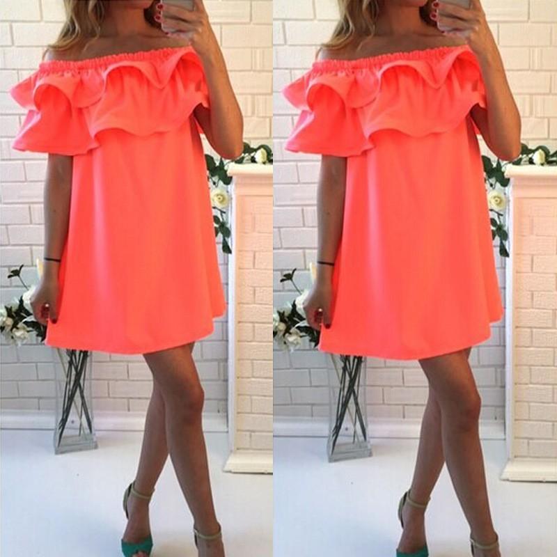 2016 nowe letnie sukienki sexy krótkim rękawem beach dress fashion kolorowe kobiety dress casual hot sprzedaż mini sukienki vestidos cd1329 4