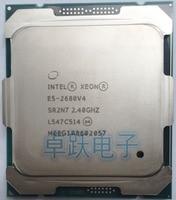 E5 2680V4 Original Intel Xeon E5-2680V4 CPU Prozessor 2,40 GHz 14-Core 35M 14NM E5-2680 V4 FCLGA2011-3 TPD 120W