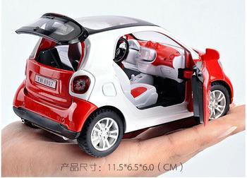 Nuevo Para Aleación Coche Modelo 32 Dos Educativos 1 Smart YIvmb6gfy7
