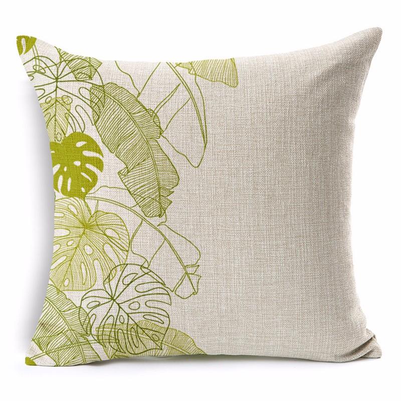 fashion european home cushion beautiful forest throw pillows