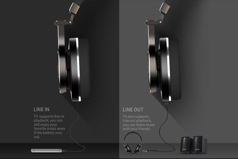 T3 wireless bluetooth bluedio słuchawki/słuchawki z bluetooth 4.1 stereo i mikrofon dla muzyki słuchawki bezprzewodowe 10