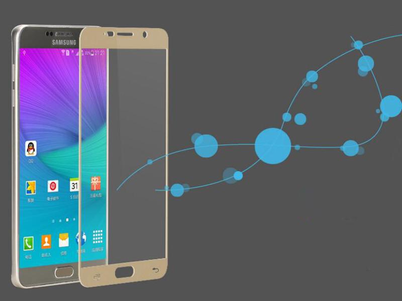 Pełna pokrywa screen protector szkło hartowane dla samsung galaxy s3 s4 s5 note 3 4 5 A3 A5 A7 2016 2017 J5 J7 Prime A8 C5 C7 Pro 12