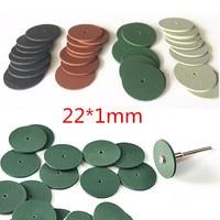 100pcs מגוון מעבדת שיניים ליטוש גלגלים Burs סיליקון מלטשי גומי-4 צבעים