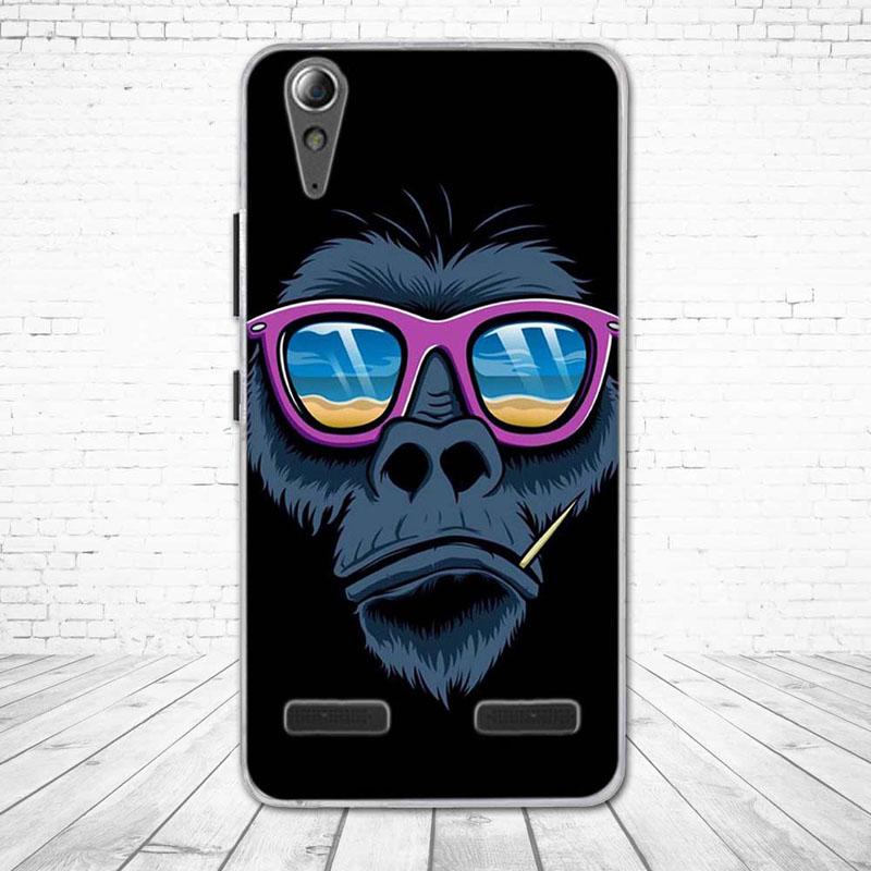 """Miękkiego silikonu case wydrukowano phone tylna pokrywa dla lenovo a6010 & a6000 & dla lenovo lemon k3 k30-t skóry pokrywa 5 """"K 3 A 6000 6010 21"""