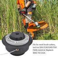 Aparador de grama ferramentas de jardinagem, cabeça de corte e linha para stihl com autocut fs38 fs40 fs50 fse81/lh