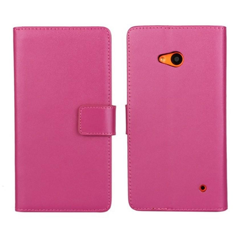 Luksusowe odwróć portfel genuine leather case pokrywa dla microsoft lumia 640 lte dual sim cell phone case do nokia 640 n640 powrót pokrywa 7
