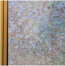 0453 M Mosaik Statisch Haftenden Film 3 D Glasfenster Aufkleber Fr Wohnzimmer