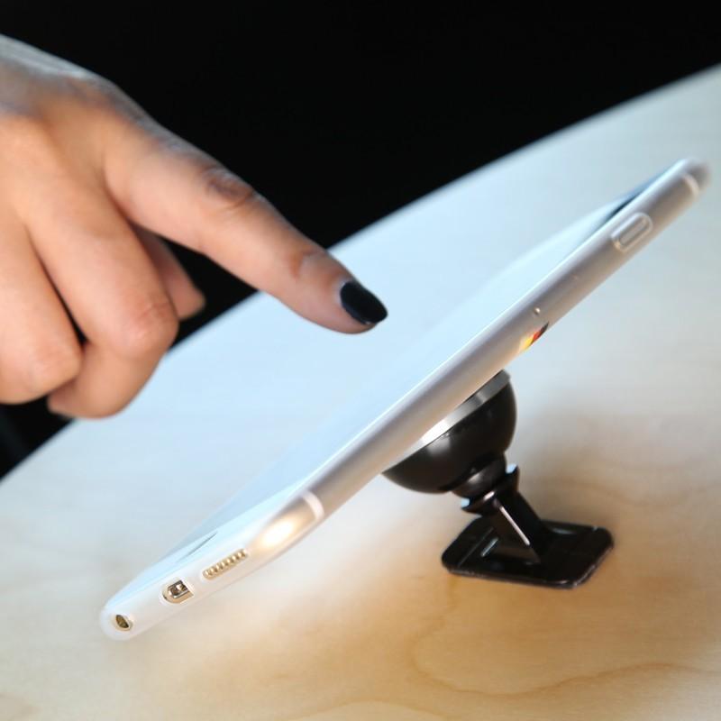 Oryginalny baseus uniwersalny magnetyczny obrót o 360 stopni uchwyt magnetyczny uchwyt samochodowy uchwyt telefonu dla iphone samsung smartphone gps 6
