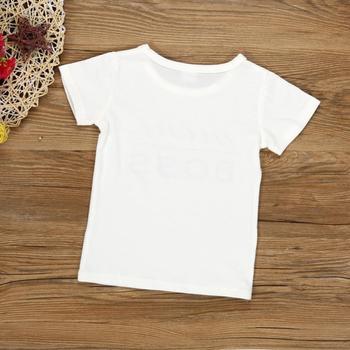 e412c855c52c3 2018 D  39  eacute t eacute  Enfants Gar ccedil ons Filles T Shirt