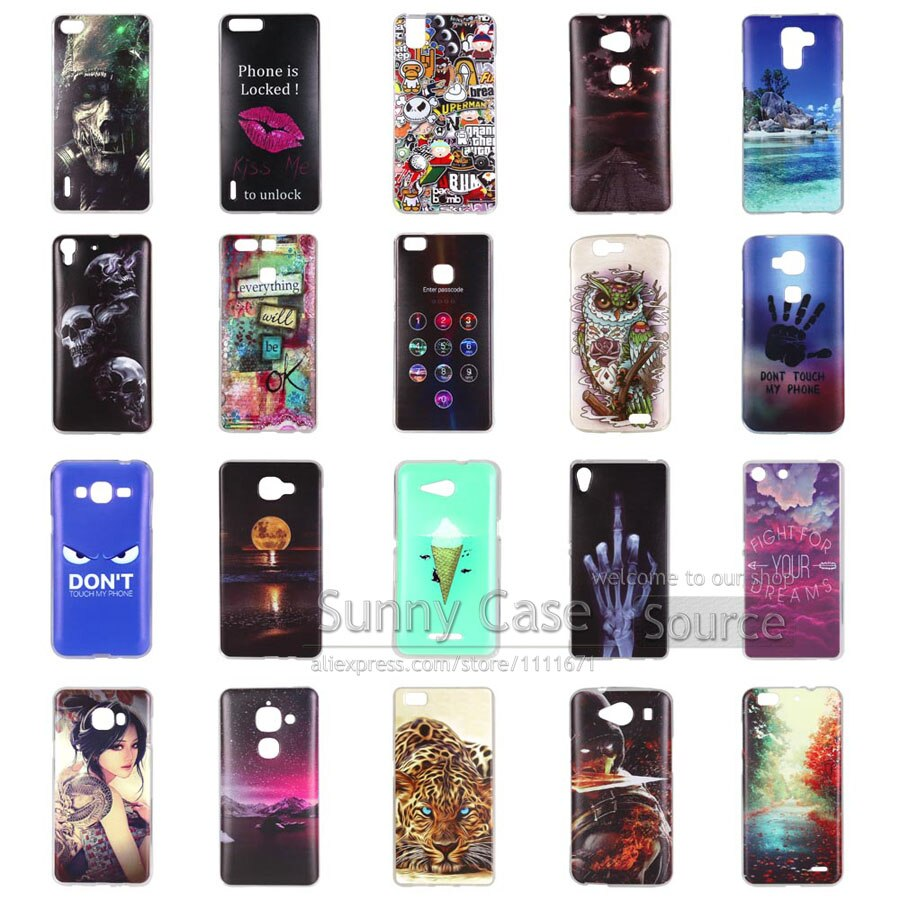"""3D Rysunek Skrzynka Dla Huawei Y5 II Pokrywa Luksusowa Druk Miękki Tpu Torby Phone Case For Huawei Y5II 5.0 """"telefon Coque Funda Powłoki Żel 3"""