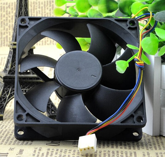 Wholesale: AVC 9025 9cm DS09225R12HPFAF 12V 0.41A 4 wire PWM CPU cooling chassis fan