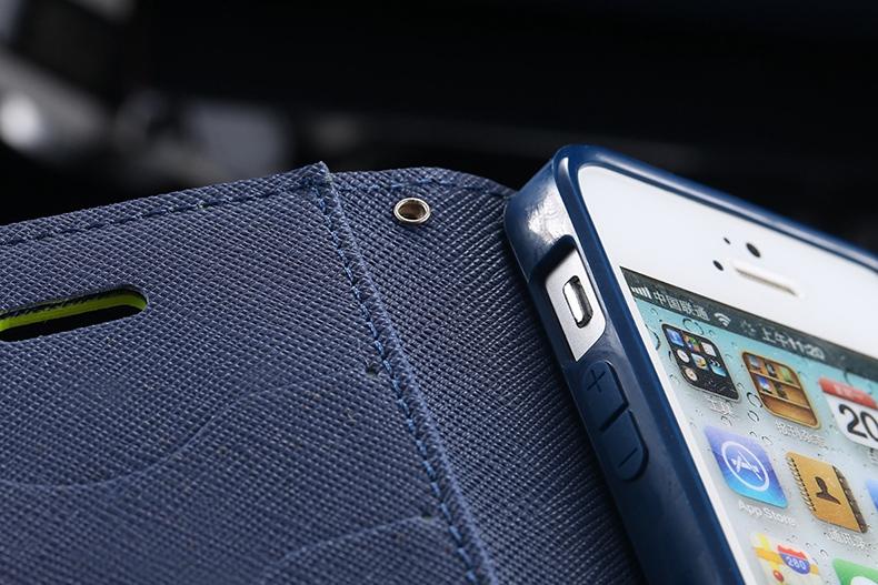 Kisscase dla iphone 4s przypadki nowy hit kolor skóry ultra odwróć case dla iphone 4 4s 4g wizytownik stań pokrywy torby telefon komórkowy 23