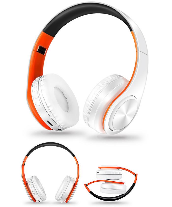 Słuchawki Bluetooth Headset słuchawki Bezprzewodowe Słuchawki Stereo Składany Sport Słuchawki Mikrofon słuchawki Tryb Głośnomówiący odtwarzacz MP3 14