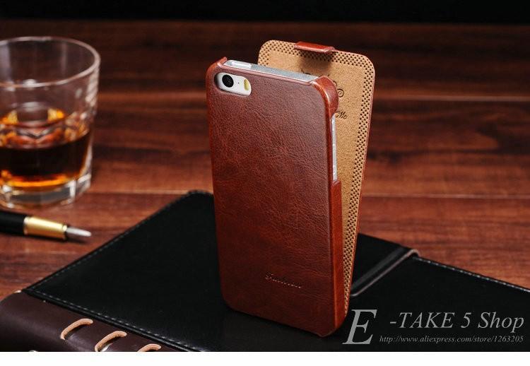 5S flip case dla iphone 5s 5 se pu skóra tomkas marki luksusowe phone tylna pokrywa coque dla apple iphone5 przypadki telefon 5 s torba 6