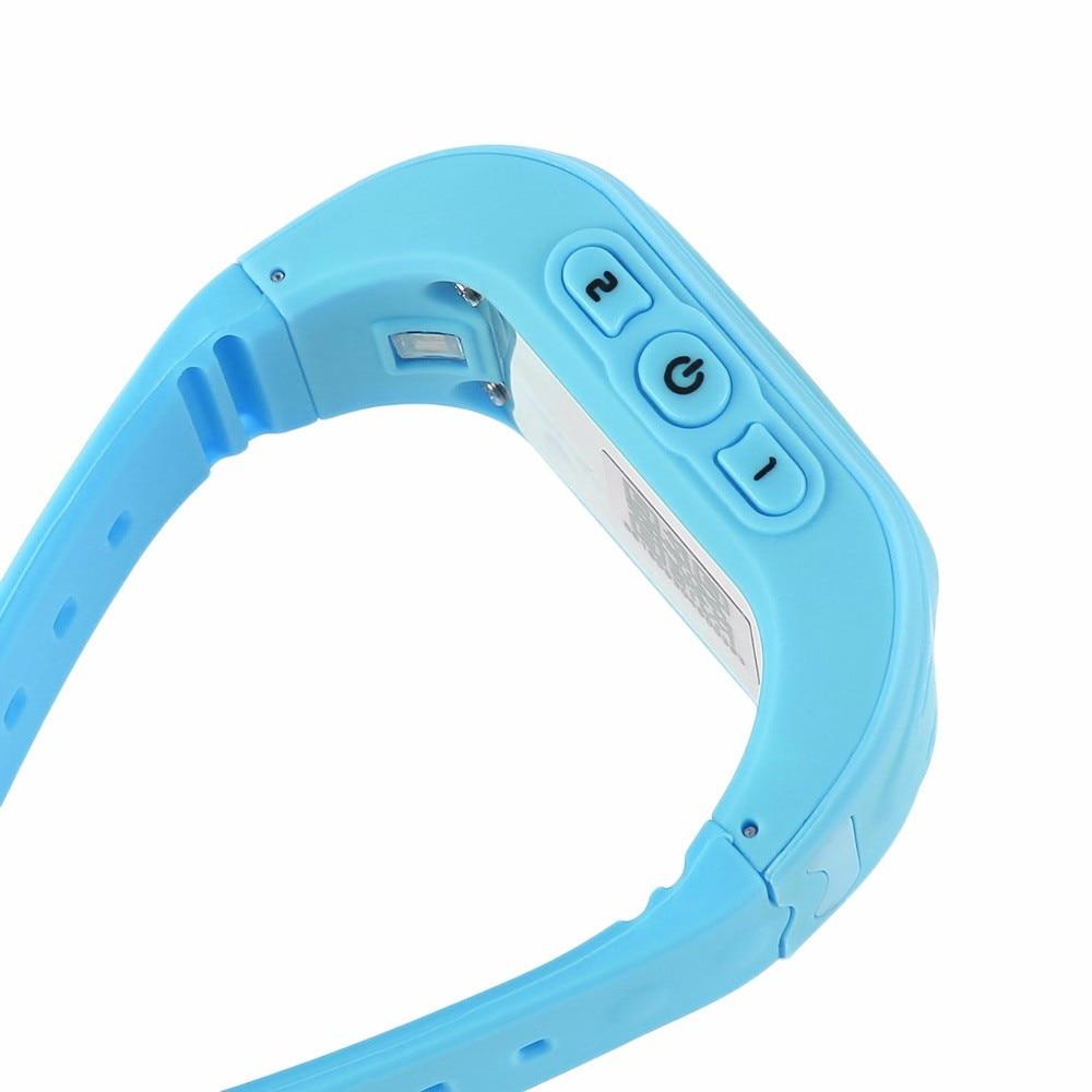 Q50 inteligentny kid safe locator location finder tracker sos rozmowy gps smart watch zegarek oled/wyświetlacz lcd dziecko anty zagubiony monitor 12