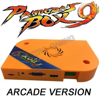 DIY Pandora box 9 1500 in 1 arcade game cabinet machine with jamma