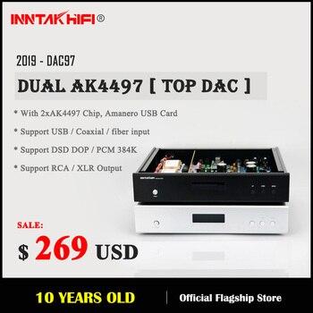 Hi-Fi Dual AK4497 DAC Support XMOS Amanero DSD / 32bit 384K, Sound