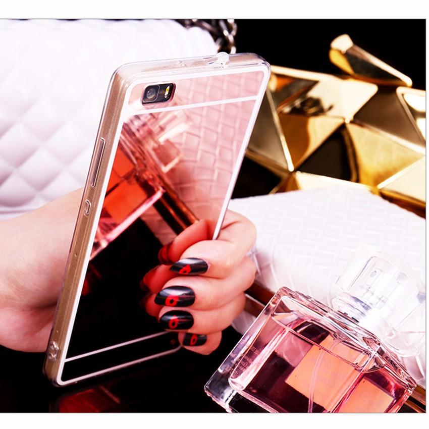 Hot! luksus lustro galwanizacja miękkie przezroczysty tpu case pokrywa dla huawei p8/p8 lite p9 p9 plus p9 lite g9 5
