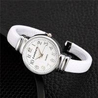 2021 nowy unikalny projekt kobiety zegarek luksusowa moda Casual kwarcowe zegarki z bransoletką proste panie zegarek zegar Relogio Feminino
