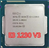 Intel Xeon Prozessor E3-1230 V3 E3 1230 V3 e3 1230V3 Quad-Core Prozessor LGA1150 Desktop CPU richtig Desktop Proces