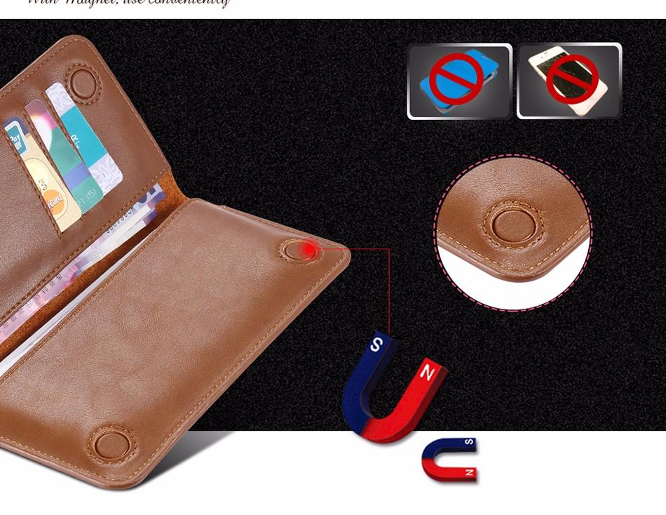 Floveme luksusowe retro skórzany portfel torby phone case do samsung s7 s6 s5 dla iphone 7 6 6 s plus se 5S 5 miękka pokrywa torebka marki 8