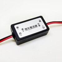 12 v dc power câmera do carro filtro invertendo imagem auto anti interferência retificador retrovisor acessórios de backup relé capacitor