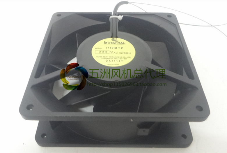 brand new Original IKURA 2750MTP-15 220V 140 * 140 * 50 high temperature Fuji inverter fan