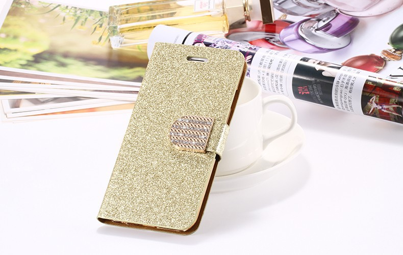 Dla iphone 6 6s plus 7 plus cover glitter bling kryształ diament skórzany portfel case do samsung galaxy s6 edge plus s7 edge torby 23