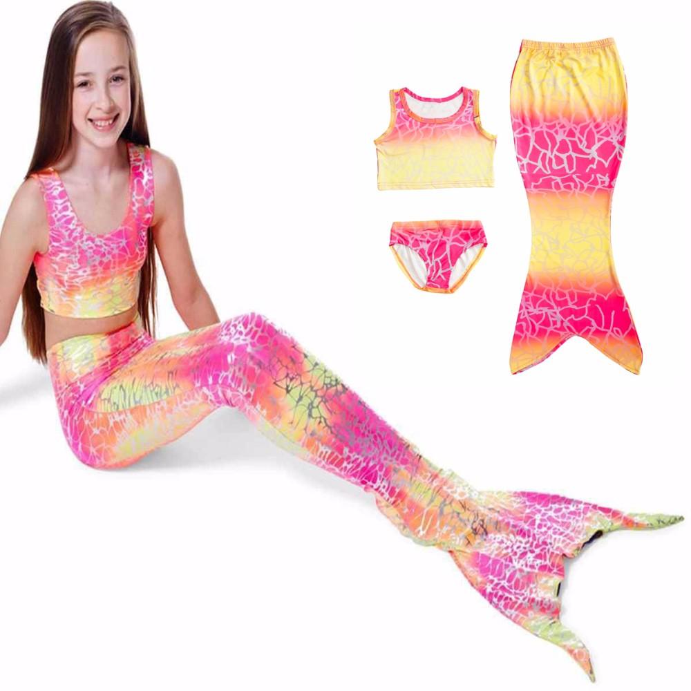 Merineitsi kostüüm tüdrukutele