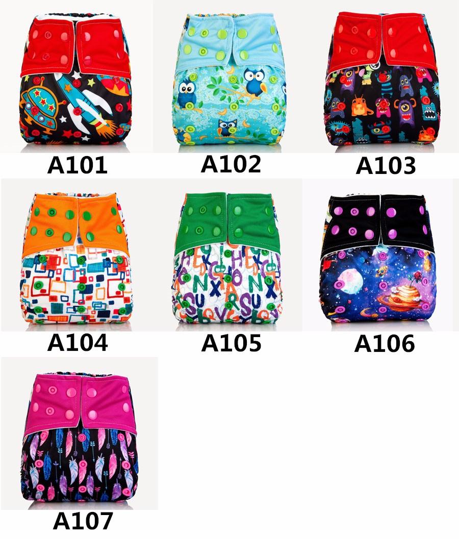 [Mumsbest] 2017 AIO Cloth pieluchy Pokrywa Z Mikrofibry Wkładki Wielokrotnego Użytku Dla Niemowląt Dla Niemowląt Chłopców i Dziewcząt Prać Tkaniny Pieluchy Pieluszki 4