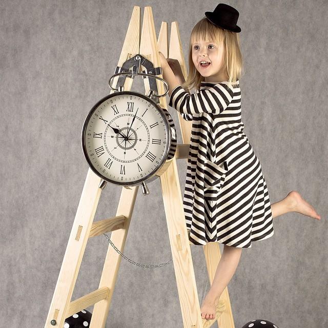 Nowy 2015 dla dzieci i mama sukienka, sukienka dziewczyny, Rodzina wygląd, kobiety piżamy dla dzieci, odzież dla dzieci, stripe, Rodzinny Wyposażony, rodzina odzież 3