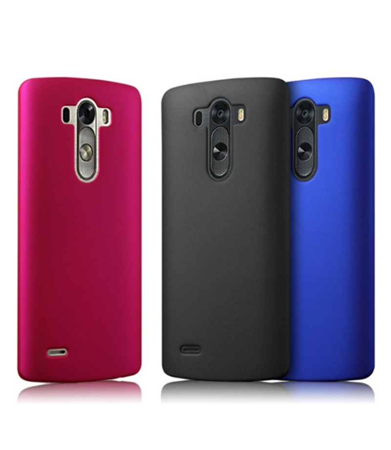 Dla lg g3 case ultra thin matowe matte mocno plecy pokrywa pc tarcza skóry protector telefon komórkowy case do lg g3 d855 d850 d851 7