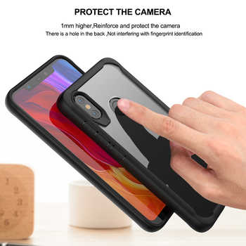For Xiaomi MI 8 / 8 Pro Phone Case Lite Slim Hard Transparent Back