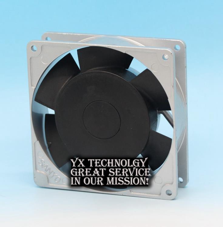 SANYO New 109S091 100V 8/7W 0.1/0.09A aluminum box 9025 AC cooling fan 90*90*25mm