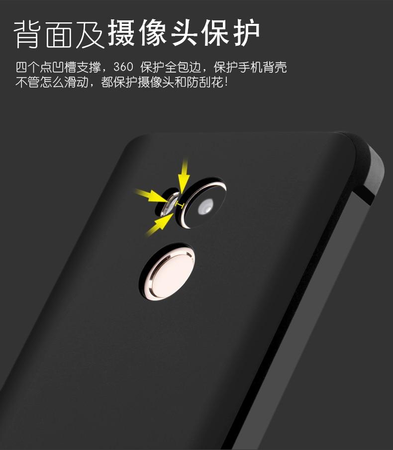 Luksusowe phone case dla xiaomi redmi 4 4pro wysokiej jakości miękkiego silikonu ochronne powrotem objąć przypadki dla xiaomi redmi4 pro shell 11
