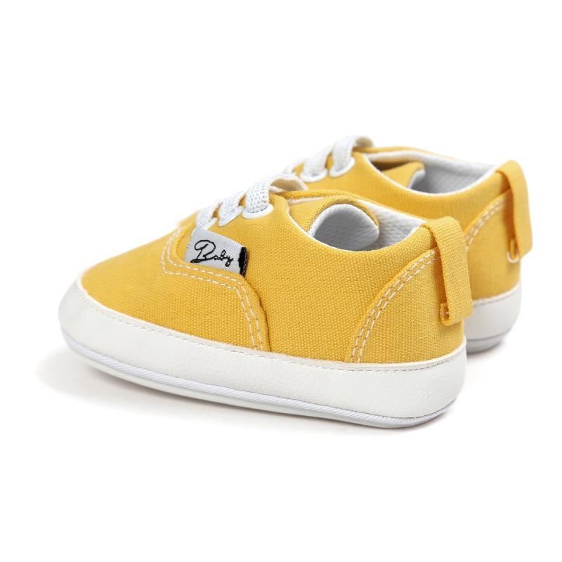 Wiosna Jesień Dziecko Noworodka Dziewczynka Chłopiec Miękkie Podeszwy antypoślizgowe Maluch Prewalker Niemowląt Sneaker Buty Na Co Dzień 42