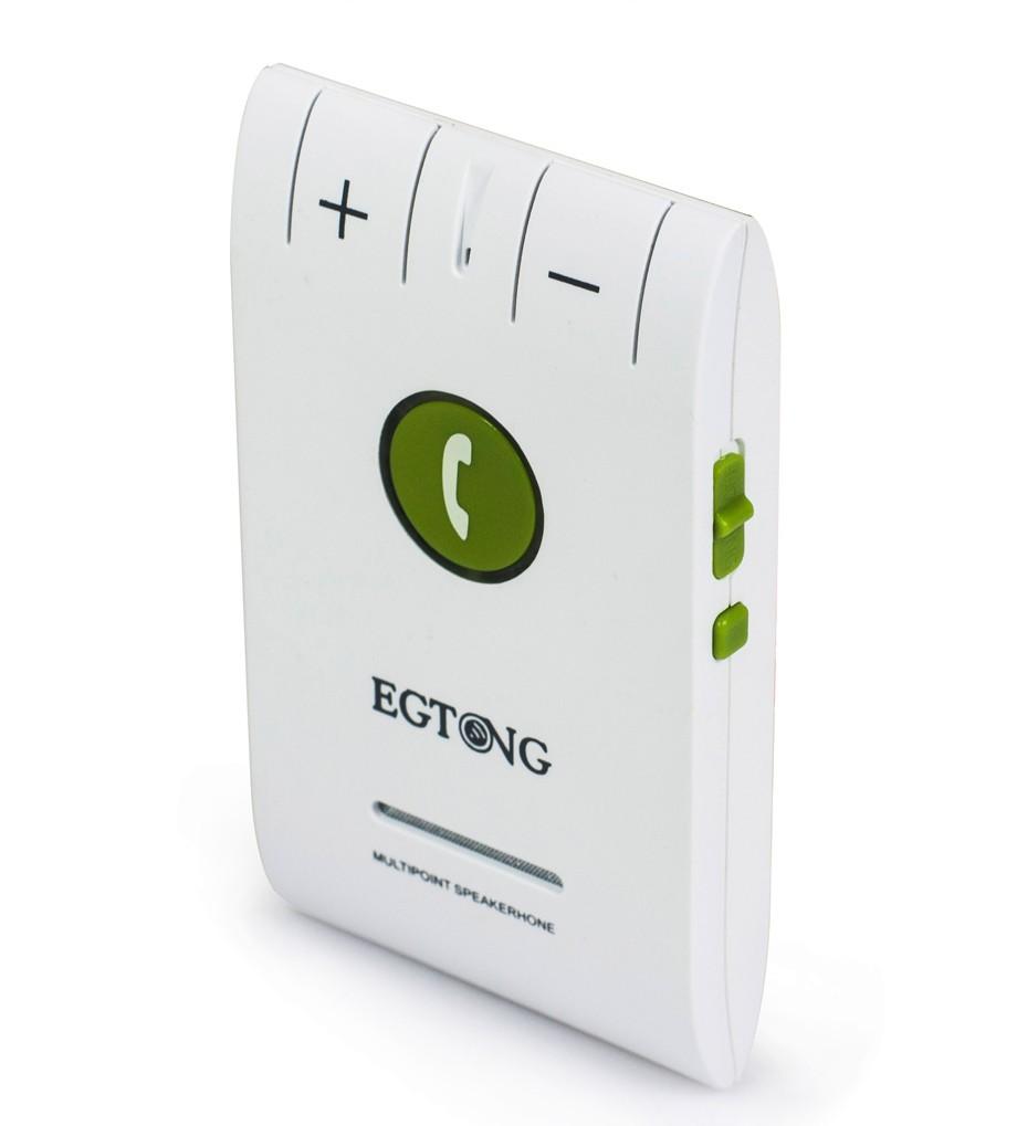 Bluetooth Zestaw Głośnomówiący Bluetooth Zestaw Głośnomówiący Zestaw Samochodowy z Ładowarką Samochodową A2DP Bezprzewodowy telefon Auto obsługa głosowa Połączeń ID raport 7